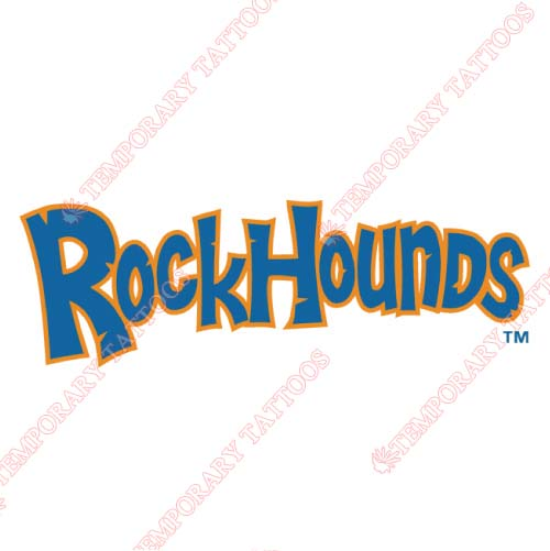 Midland RockHounds Customize Temporary Tattoos Stickers NO.7770