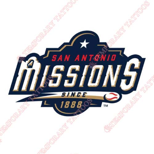 San Antonio Missions Customize Temporary Tattoos Stickers NO.7776
