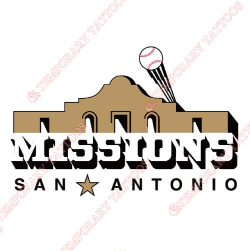 San Antonio Missions Customize Temporary Tattoos Stickers NO.7778