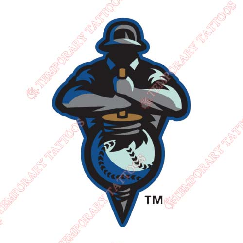 Tulsa Drillers Customize Temporary Tattoos Stickers NO.7785