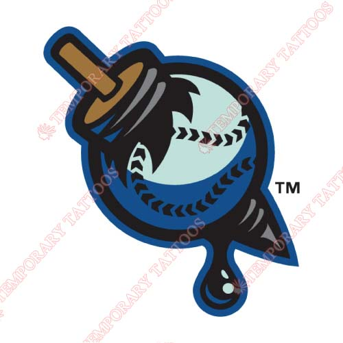 Tulsa Drillers Customize Temporary Tattoos Stickers NO.7787