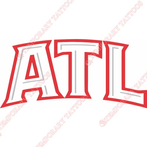 Atlanta Hawks Customize Temporary Tattoos Stickers NO.907