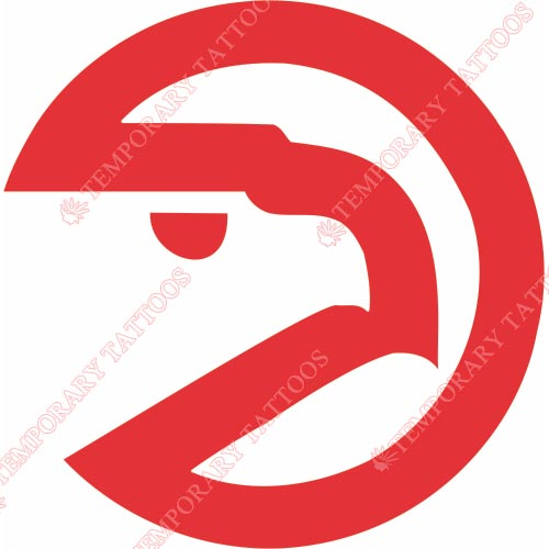 Atlanta Hawks Customize Temporary Tattoos Stickers NO.910