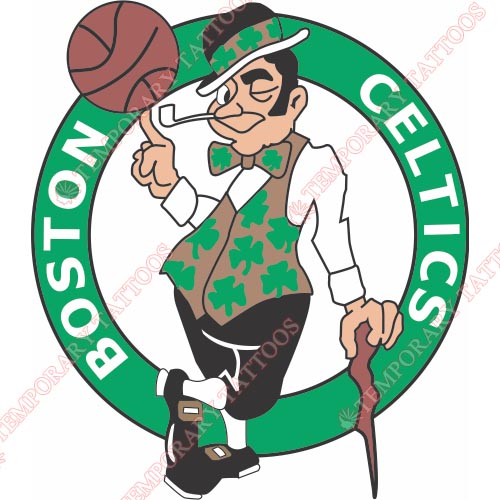 Boston Celtics Customize Temporary Tattoos Stickers NO.914