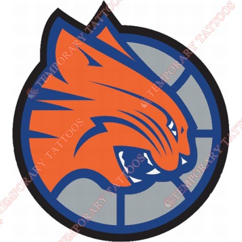 Charlotte Bobcats Customize Temporary Tattoos Stickers NO.927