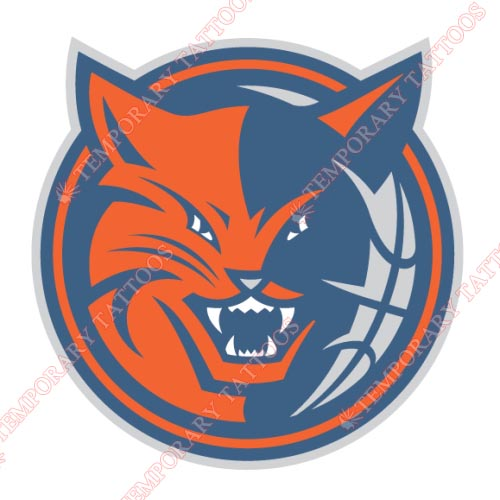Charlotte Bobcats Customize Temporary Tattoos Stickers NO.929