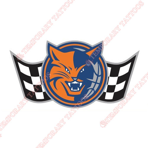 Charlotte Bobcats Customize Temporary Tattoos Stickers NO.932