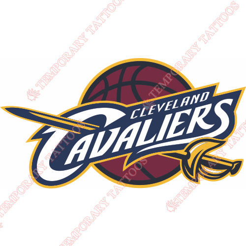 Cleveland Cavaliers Customize Temporary Tattoos Stickers NO.941