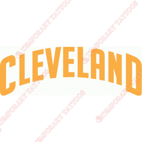 Cleveland Cavaliers Customize Temporary Tattoos Stickers NO.942