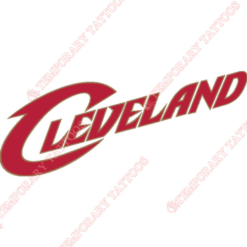 Cleveland Cavaliers Customize Temporary Tattoos Stickers NO.945