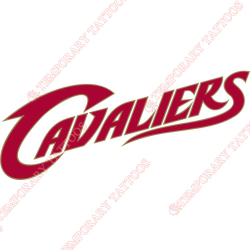 Cleveland Cavaliers Customize Temporary Tattoos Stickers NO.946