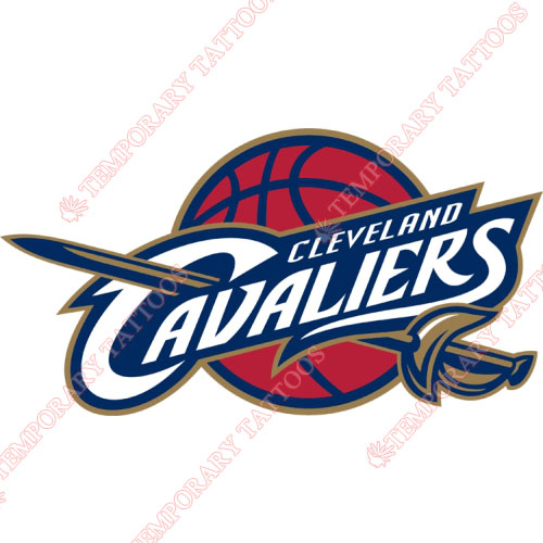 Cleveland Cavaliers Customize Temporary Tattoos Stickers NO.947