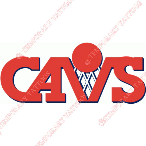 Cleveland Cavaliers Customize Temporary Tattoos Stickers NO.948