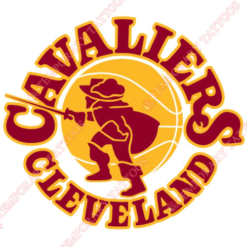 Cleveland Cavaliers Customize Temporary Tattoos Stickers NO.949