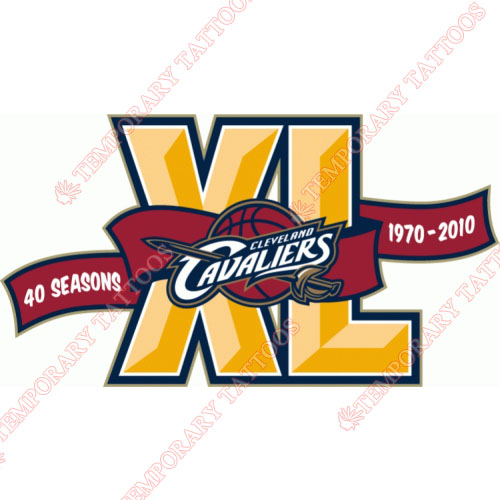 Cleveland Cavaliers Customize Temporary Tattoos Stickers NO.950