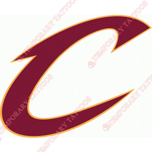 Cleveland Cavaliers Customize Temporary Tattoos Stickers NO.952