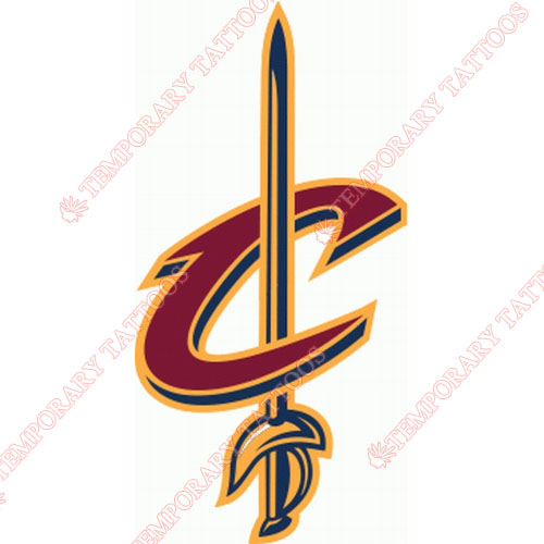Cleveland Cavaliers Customize Temporary Tattoos Stickers NO.953