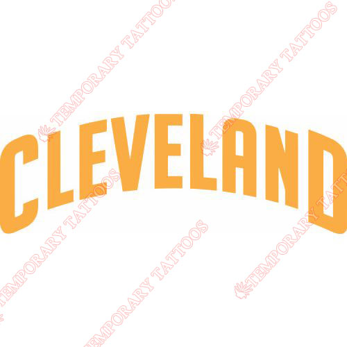 Cleveland Cavaliers Customize Temporary Tattoos Stickers NO.960