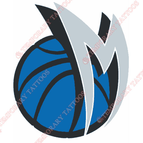 Dallas Mavericks Customize Temporary Tattoos Stickers NO.972