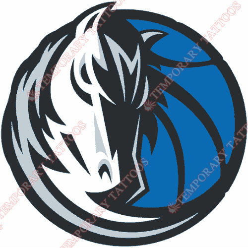 Dallas Mavericks Customize Temporary Tattoos Stickers NO.973