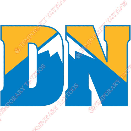 Denver Nuggets Customize Temporary Tattoos Stickers NO.986