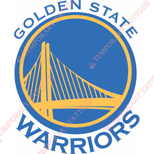 Golden State Warriors Customize Temporary Tattoos Stickers NO.1007