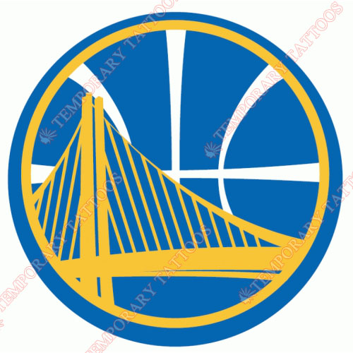 Golden State Warriors Customize Temporary Tattoos Stickers NO.1014