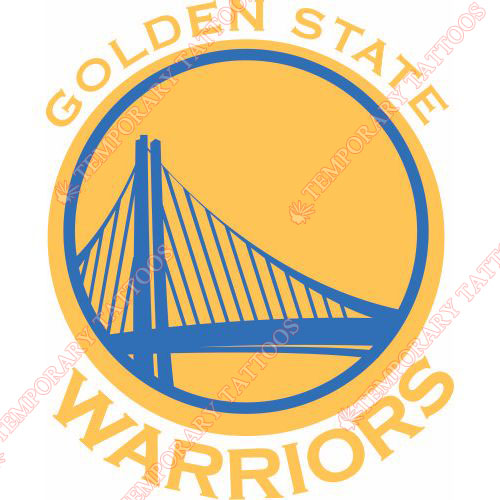 Golden State Warriors Customize Temporary Tattoos Stickers NO.1016