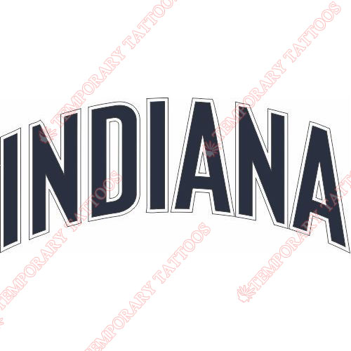 Indiana Pacers Customize Temporary Tattoos Stickers NO.1030