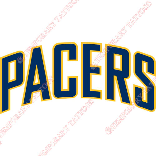Indiana Pacers Customize Temporary Tattoos Stickers NO.1033