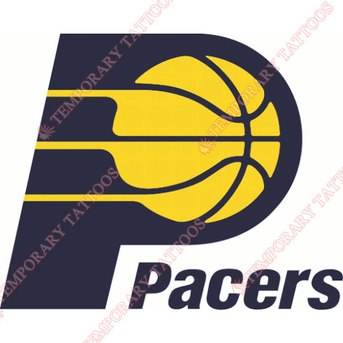 Indiana Pacers Customize Temporary Tattoos Stickers NO.1035