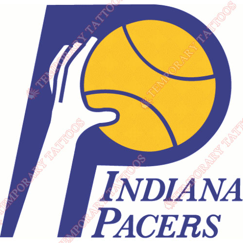 Indiana Pacers Customize Temporary Tattoos Stickers NO.1036