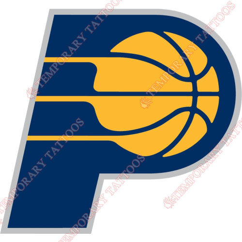 Indiana Pacers Customize Temporary Tattoos Stickers NO.1037
