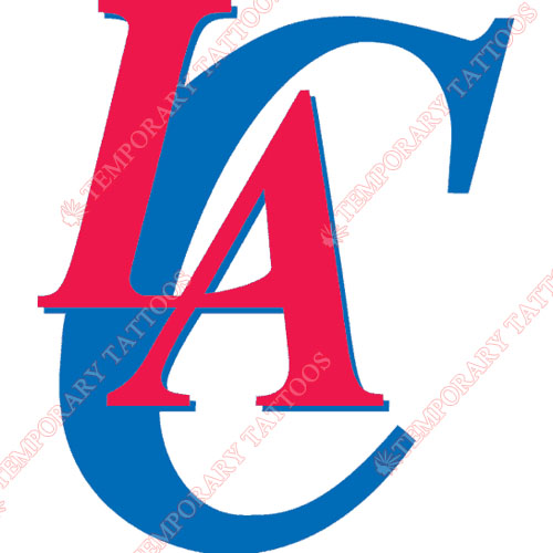 Los Angeles Clippers Customize Temporary Tattoos Stickers NO.1045