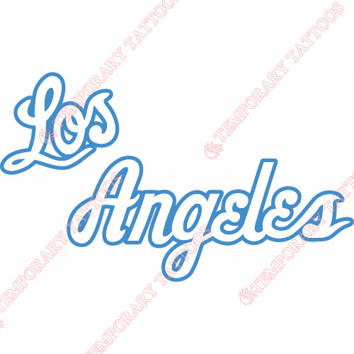 Los Angeles Lakers Customize Temporary Tattoos Stickers NO.1050