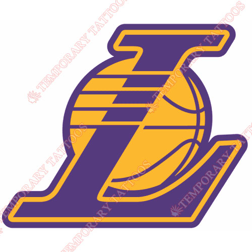 Los Angeles Lakers Customize Temporary Tattoos Stickers NO.1052