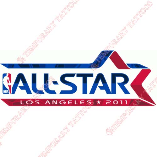 NBA All Star Game Customize Temporary Tattoos Stickers NO.856