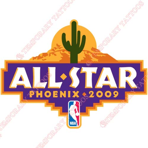 NBA All Star Game Customize Temporary Tattoos Stickers NO.858