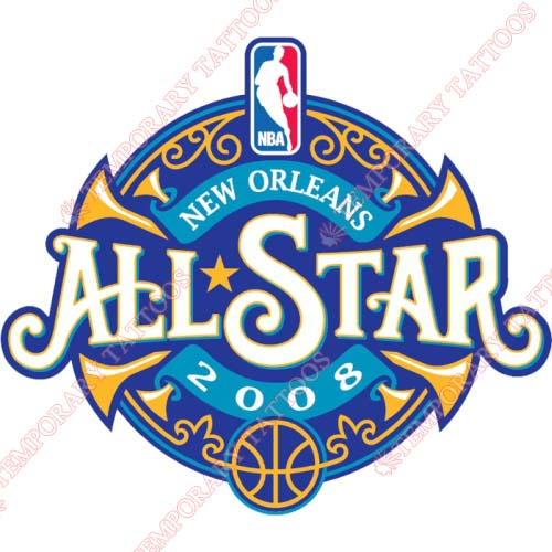 NBA All Star Game Customize Temporary Tattoos Stickers NO.859