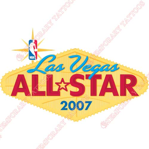 NBA All Star Game Customize Temporary Tattoos Stickers NO.860