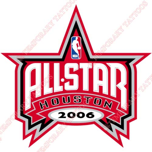 NBA All Star Game Customize Temporary Tattoos Stickers NO.861