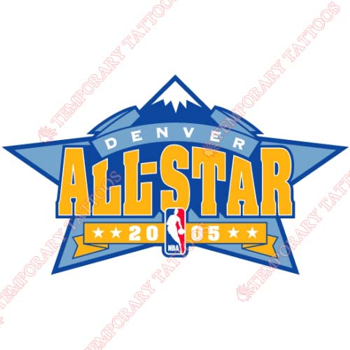 NBA All Star Game Customize Temporary Tattoos Stickers NO.862