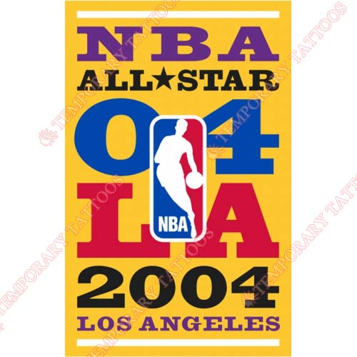 NBA All Star Game Customize Temporary Tattoos Stickers NO.863