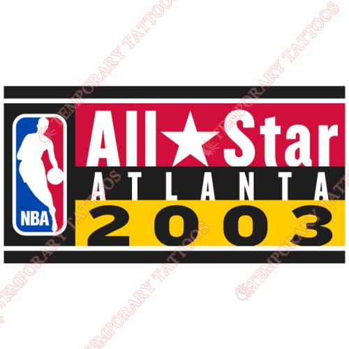 NBA All Star Game Customize Temporary Tattoos Stickers NO.864