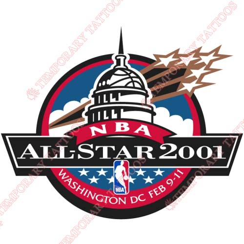 NBA All Star Game Customize Temporary Tattoos Stickers NO.865