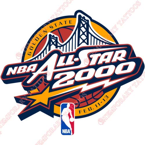 NBA All Star Game Customize Temporary Tattoos Stickers NO.866