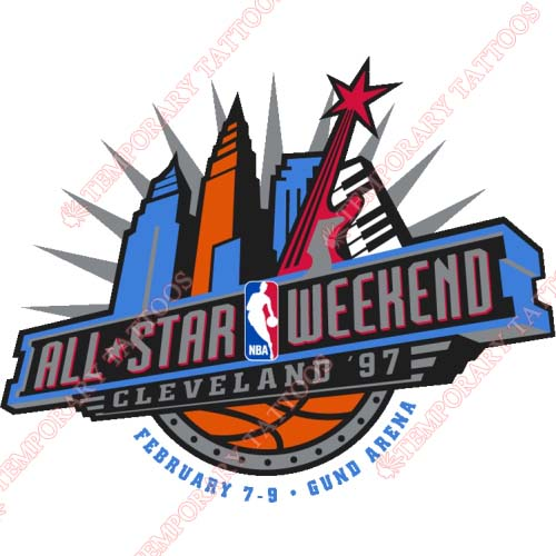 NBA All Star Game Customize Temporary Tattoos Stickers NO.869