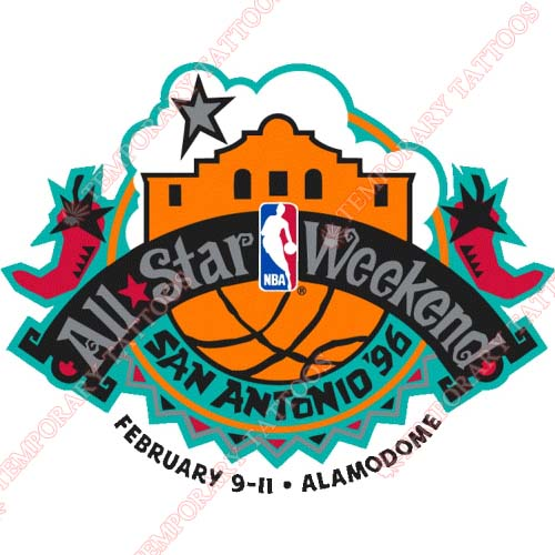 NBA All Star Game Customize Temporary Tattoos Stickers NO.870