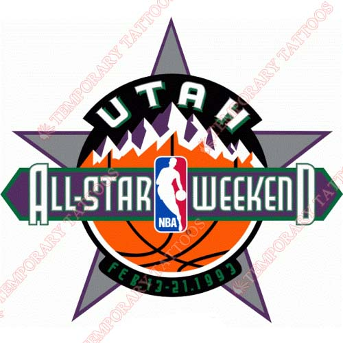 NBA All Star Game Customize Temporary Tattoos Stickers NO.871