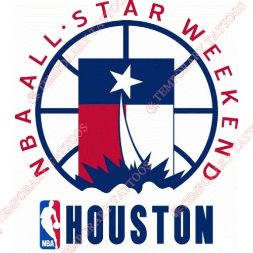 NBA All Star Game Customize Temporary Tattoos Stickers NO.872